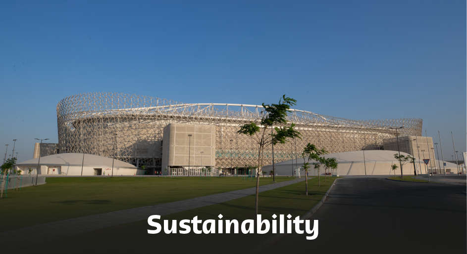 Ahmad Bin Ali Stadium Sustainability.