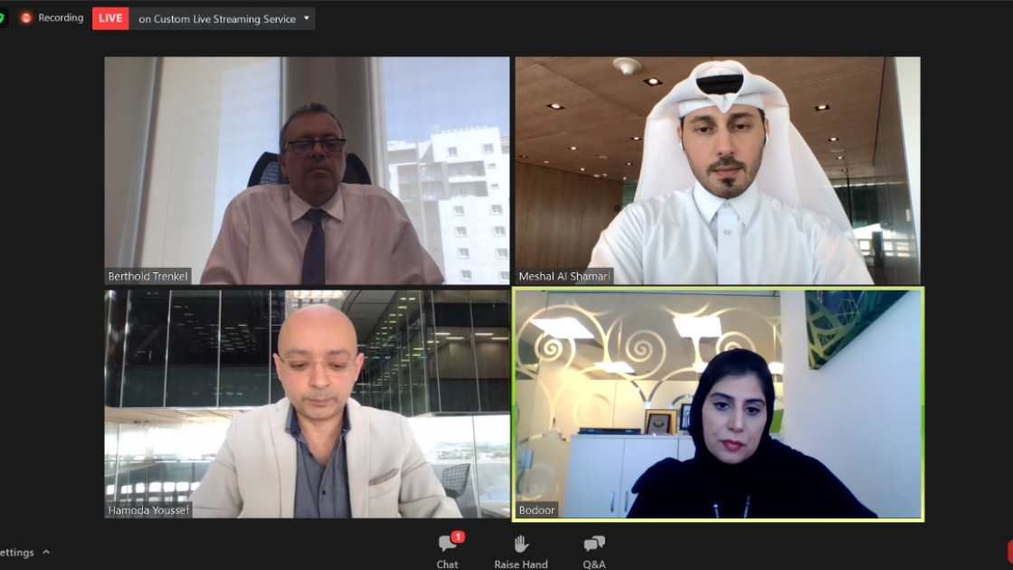 Bodour Al Meer at the opening panel