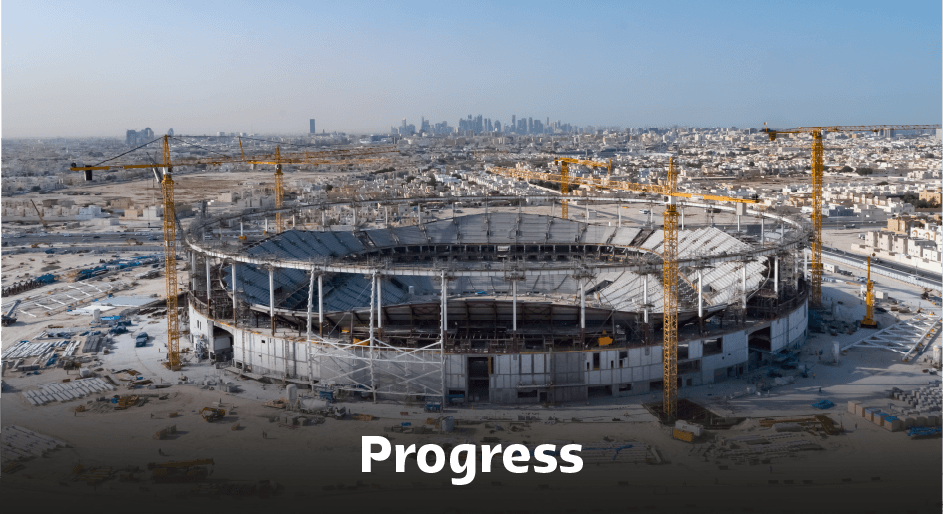 Al Thumama Stadium Progress.