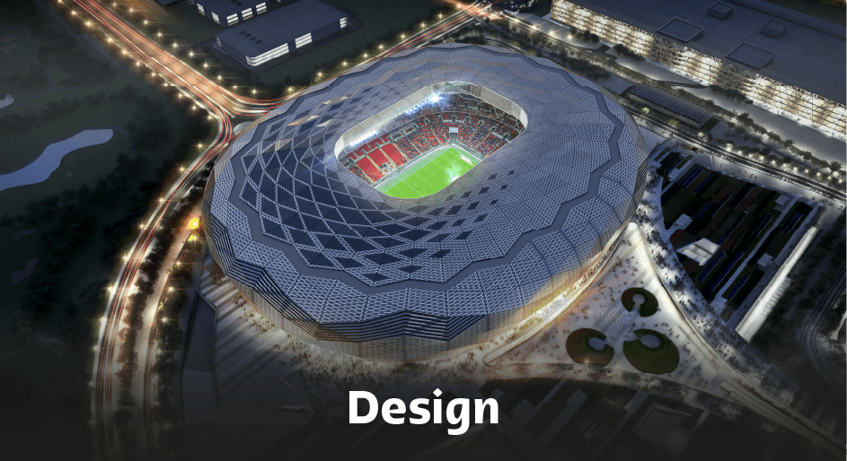 Education City Stadium Design.