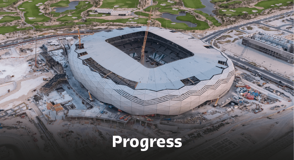 Education City Stadium Progress.