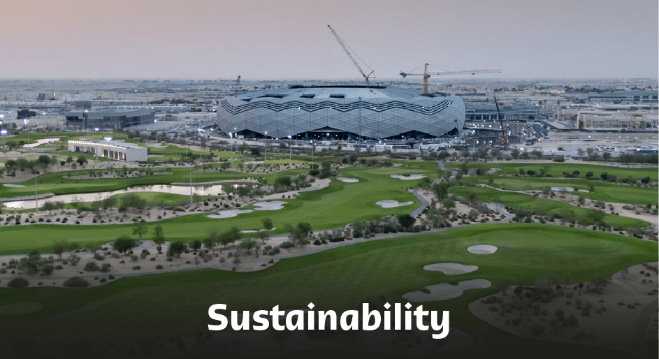 Education City Stadium Sustainability.