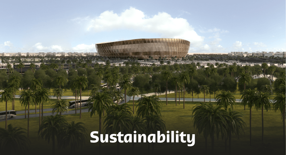 Lusail Stadium Sustainability.