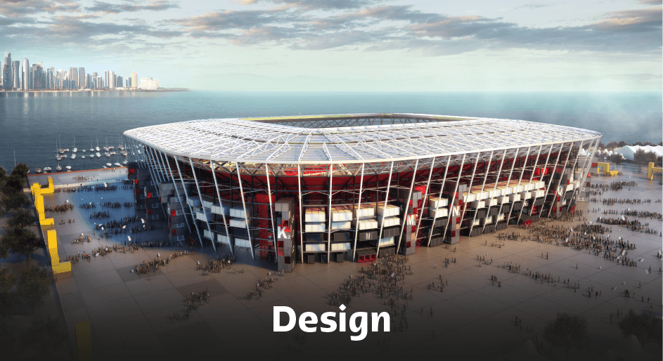 Ras Abu Aboud Stadium Design.