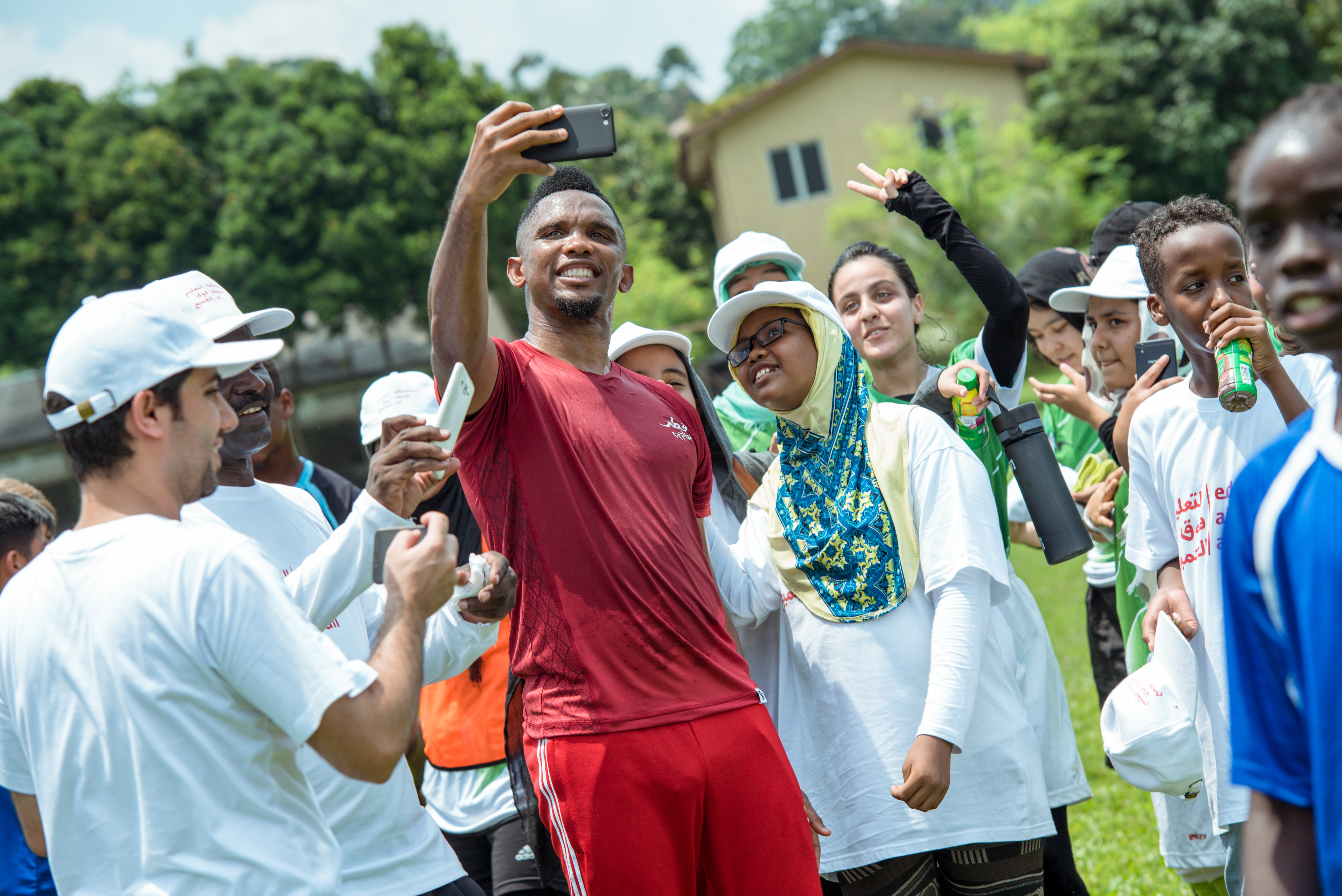 Samuel Eto'o: This is our generation's challenge