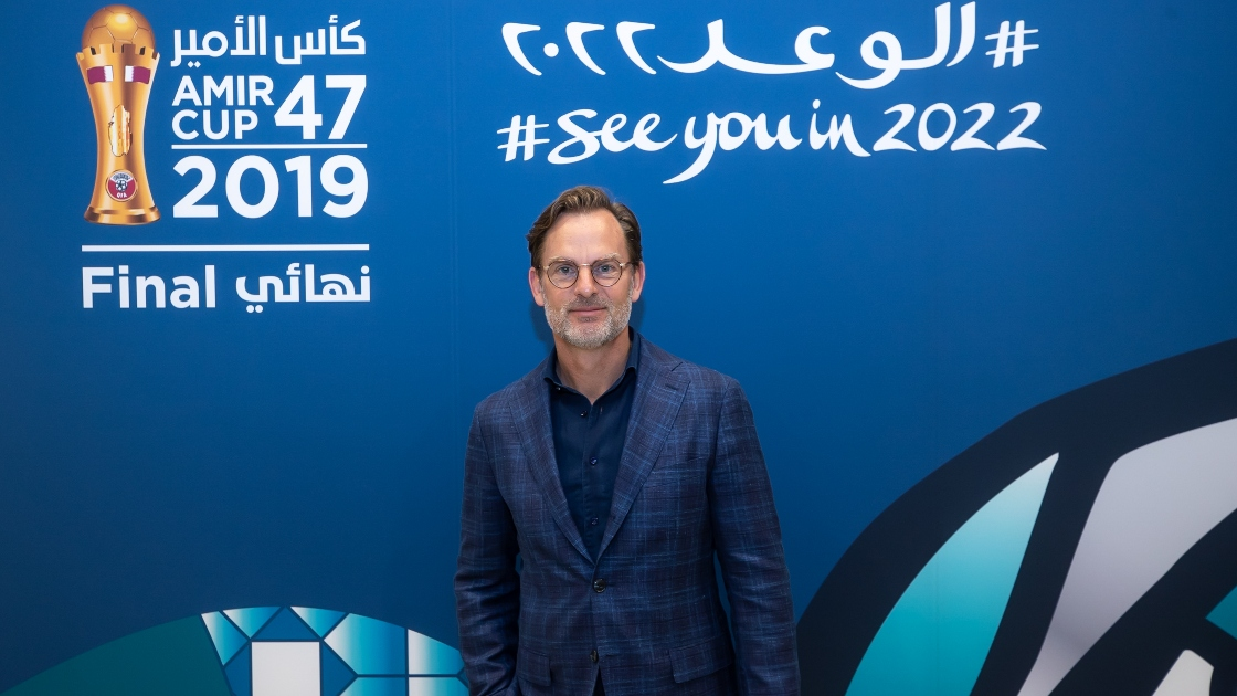Former Ajax and Barcelona star is latest big name to join Qatar 2022 legacy programme's online activities