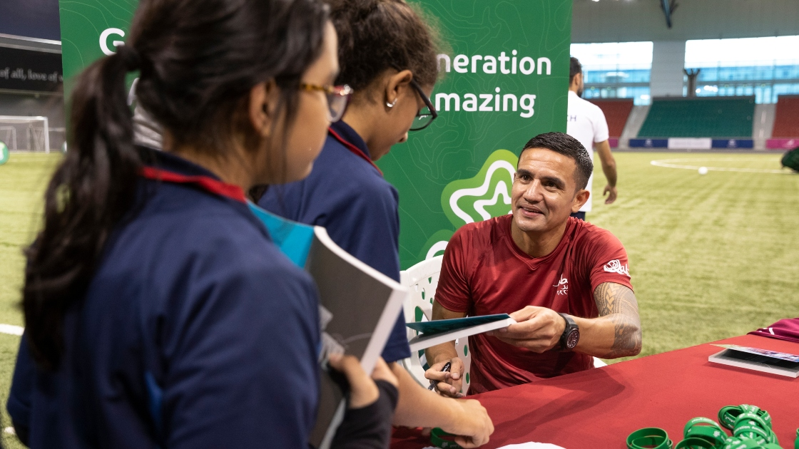 Australia legend Tim Cahill to appear on Generation Amazing Live