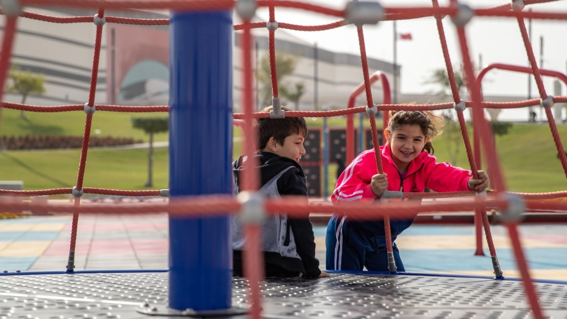 The parks are located at Al Bayt Stadium, Al Janoub Stadium and the Ersal training sites cluster