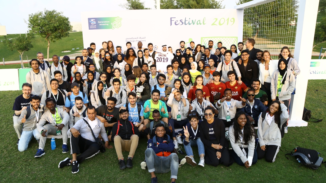 Youth Advocates at Festival 2019