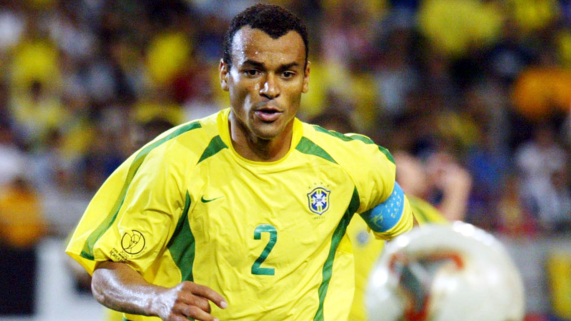 Cafu at the FIFA World Cup.