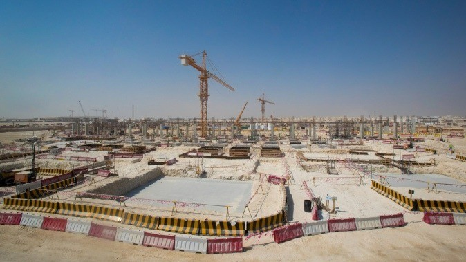 2017 in review 2022 FIFA World Cup stadiums begin to take shape across Qatar