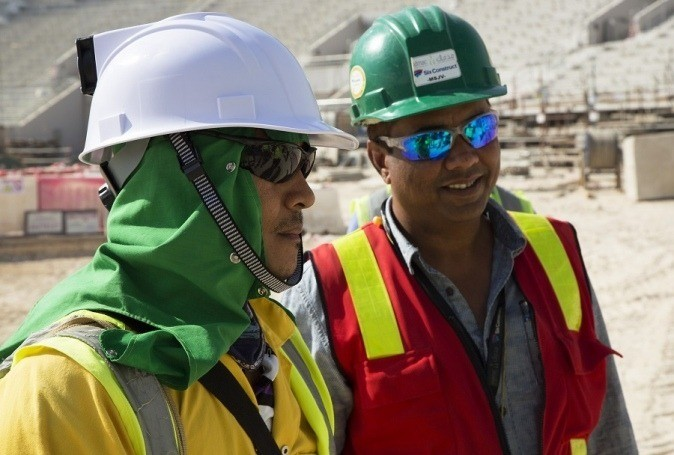 An innovative cooled helmet designed and developed by leading researchers in Qatar has the potential to significantly reduce the skin temperature of construction workers by up to 10 degrees centigrade