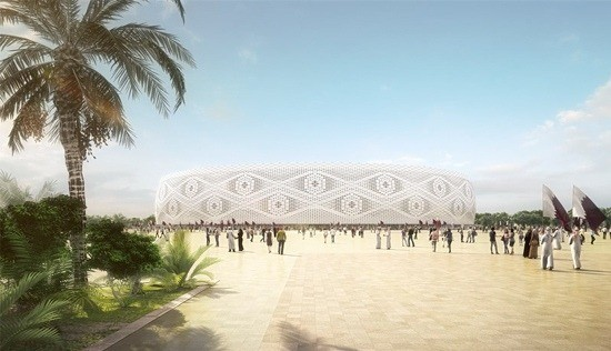al thumama stadium design