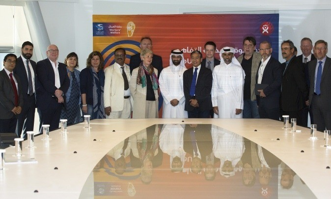 SC and BWI sign MoU for joint inspections on 2022 FIFA World Cup stadiums
