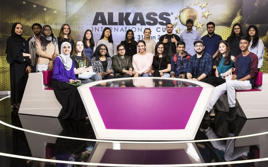 Youth Panel Al Kass visit