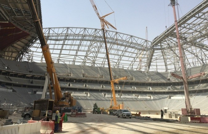 Check out the latest updates from each Qatar 2022 stadium