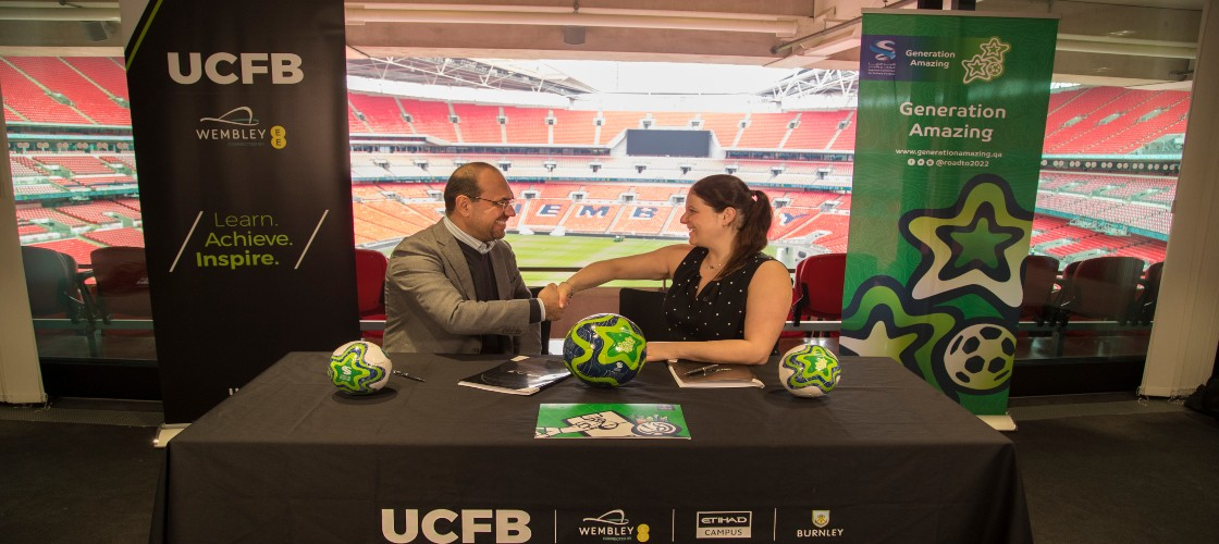 The SC's football for development programme teams up with UCFB