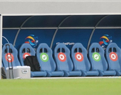 AFC Champions League East Zone substitutes bench