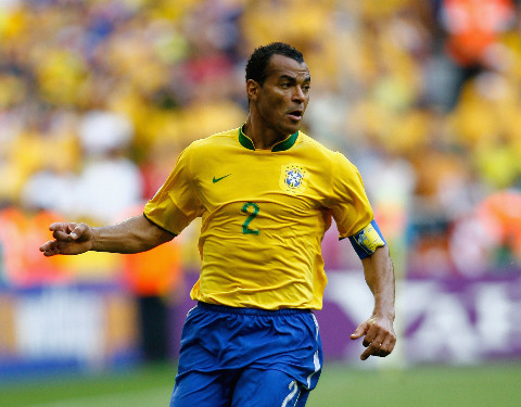 Cafu at the World Cup.